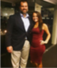 Vanessa Richardson emceeing Ryan Grigson's Bank of America Event