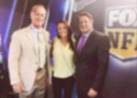 Chris Myers, Moose Johnson, Fox NFL, Vanessa Richardson