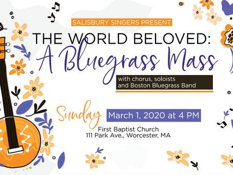 Salisbury Singers present 'The World Beloved: A Bluegrass Mass'