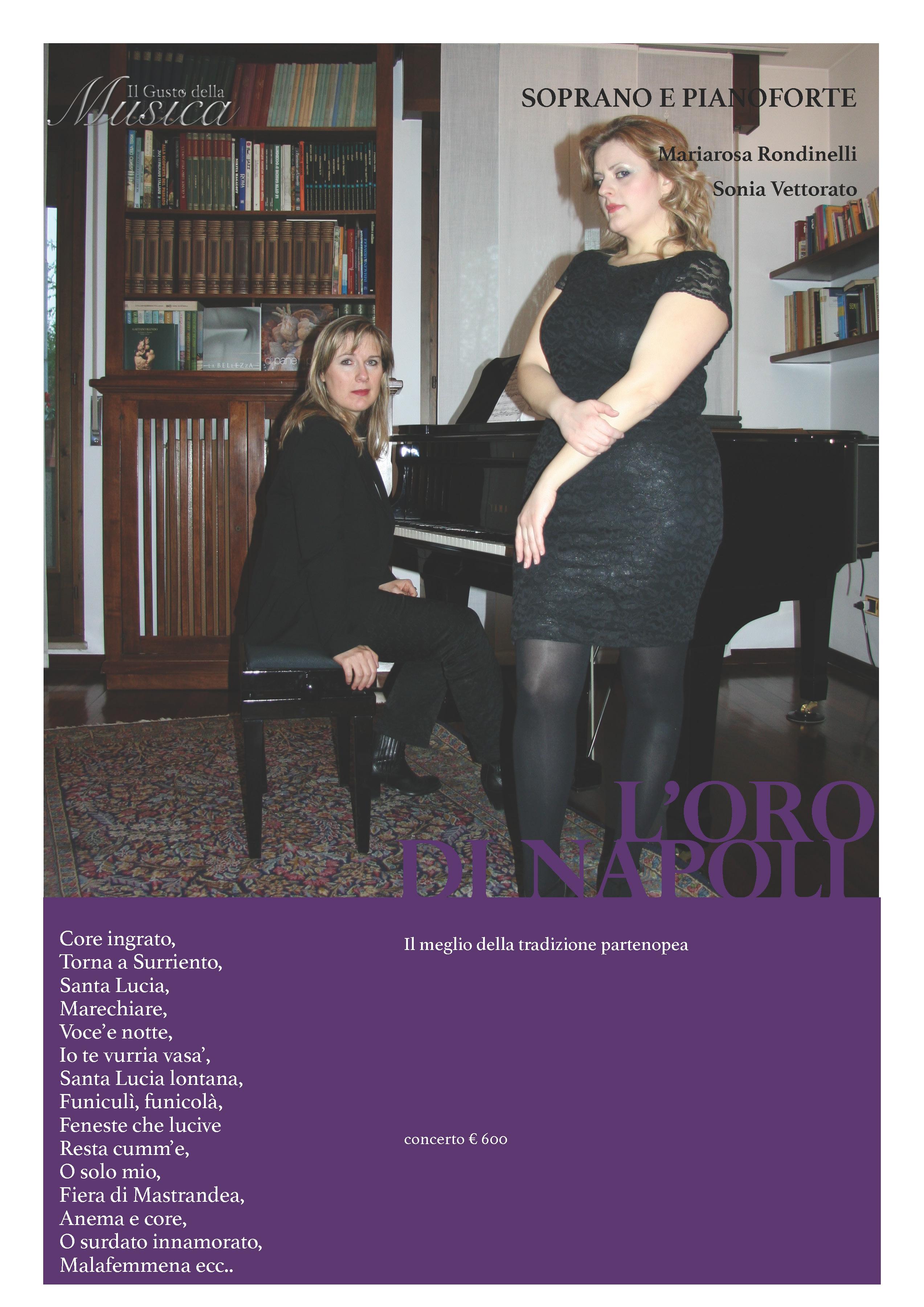 10. L'oro di Napoli concerto