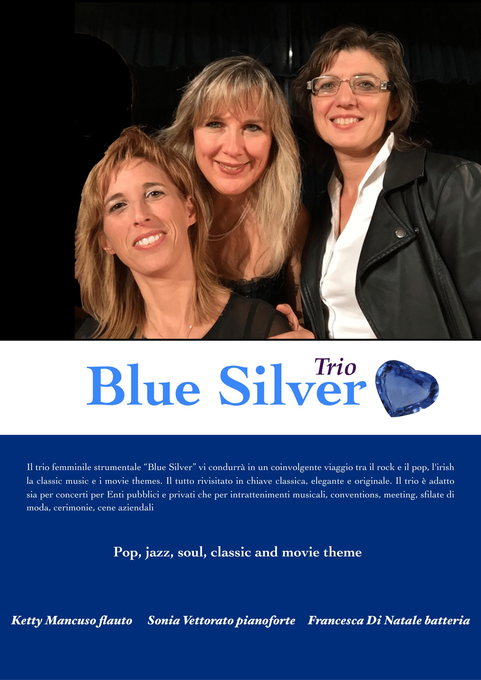 Blue Silver trio 3-1