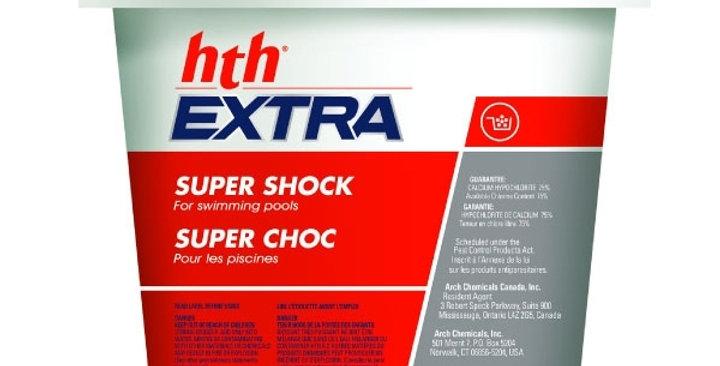 Chlore Super Choc 6 Kg