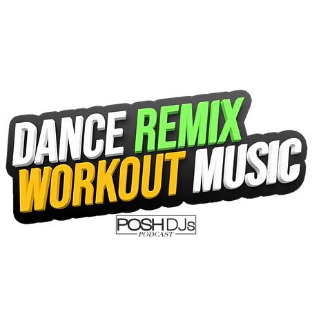 Dance Remix Workout Music Logo (no shado
