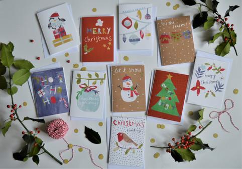Dolly Pepper Studio Christmas card pack