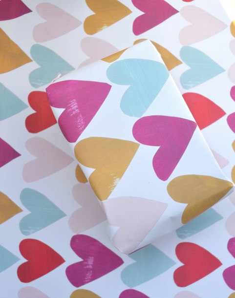 7501095-Gift-wrap-single-sheet-with-pret