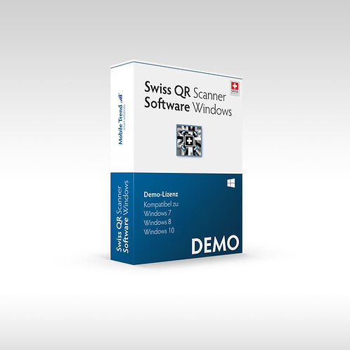 Swiss QR Scanner - Windows DEMO Lizenz