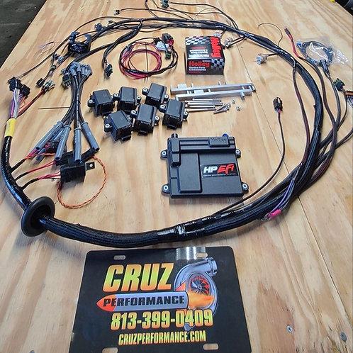 CRUZ Performance Turbo Buick Holley Engine Harness