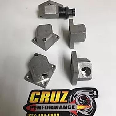 CRUZ Performance Billet IAC Angle Adaptor