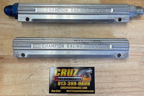 -8 Champion Intake Fuel Rails