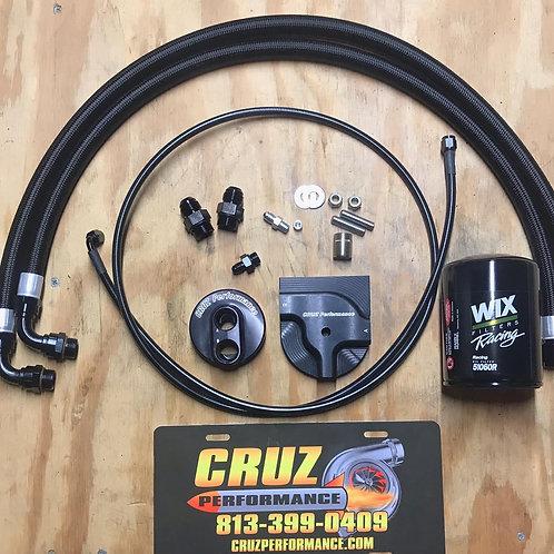 CRUZ Performance Oil Filter Relocation Kit