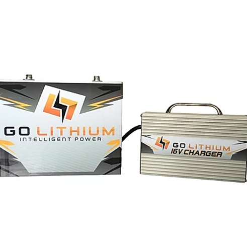 GO LITHIUM 16V Racing Battery And Charger Combo