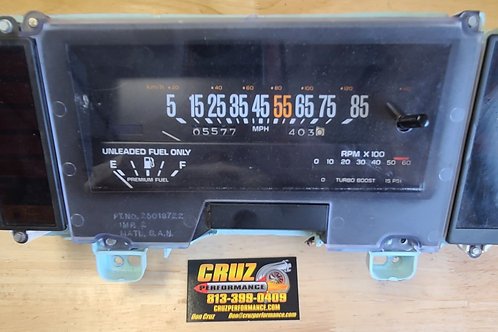Grand National Instrument Cluster