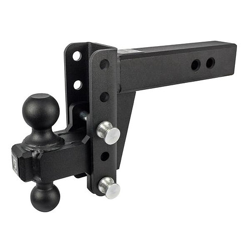 """2.5"""" EXTREME DUTY 4"""" DROP/RISE HITCH"""