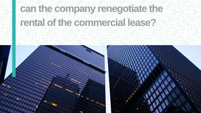 Suspension of business activities: can the company renegotiate the rental of the commercial lease?