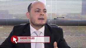 Entrevista André Teles - validade da patente de medicamento usado no tratamento da Aids.