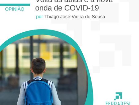 Volta às aulas e a nova onda de COVID-19