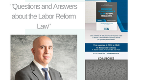 Book Launch - Questions and Answers about the Labor Reform Law