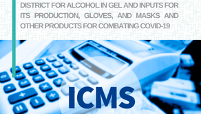 Exemption from ICMS in the Federal District for combating COVID-19