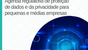 Agenda regulatória de proteção de dados e da privacidade para pequenas e médias empresas