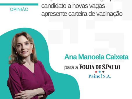 Empresas estudam exigir que candidato a novas vagas apresente carteira de vacinação