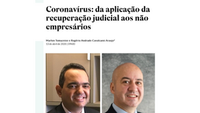 Coronavirus: from the application of judicial recovery to non-entrepreneurs