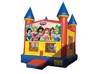 Princess Jasmine, Cinderella, Snow White, Belle, Sleepinf Beauty, Disney Princess, Bounce House, Moonwalk, Party Rental