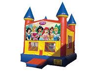 Princess Jasmine, Cinderella, Snow White, Belle, Sleepinf Beauty, Disney Princess, Bounce House, Moonwalk, Party Rental