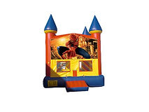 Spiderman Bounce House Moonalk Party Rental