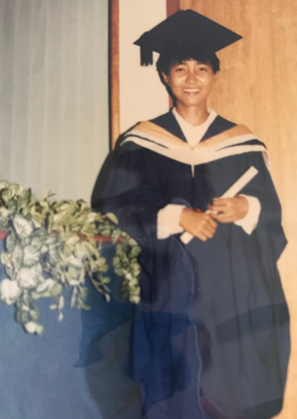 A young civil engineer just graduated from National University Of Singapore