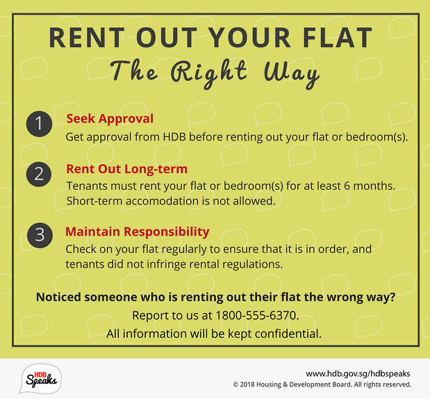 rent out your HDB the right way   what is the right way to rent out your HDB