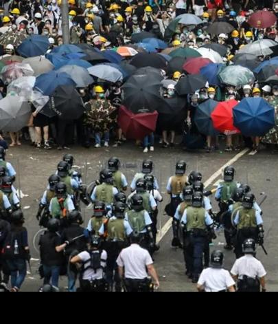 The Hong Kong protest