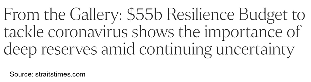 unity budget resilience budget solidarity budget