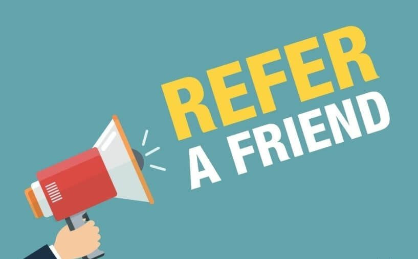 Refer a friend recommend a real estate agent refer a professional real estate agent