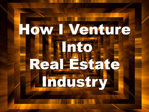 How I Venture into Real Estate Industry?