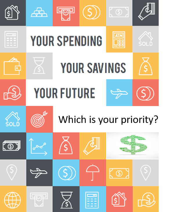 what is your priority for your budget Your spending your savings your future