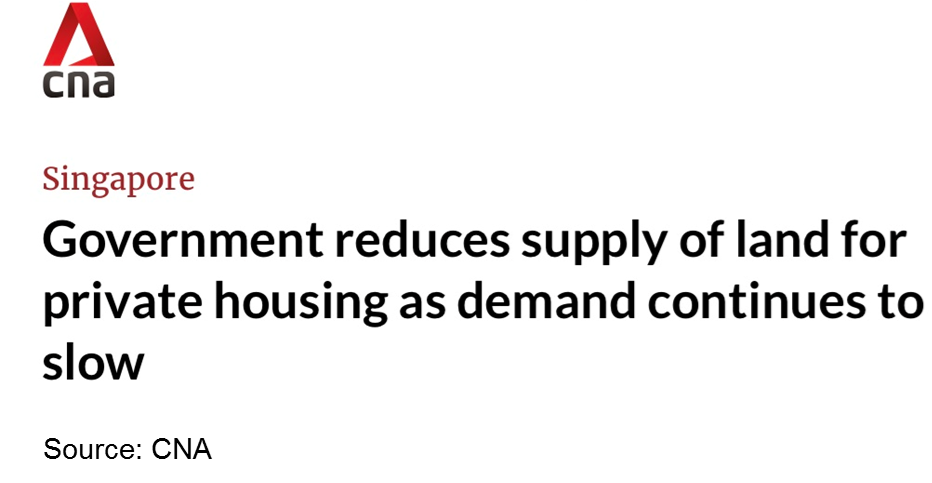 reduces supply of land