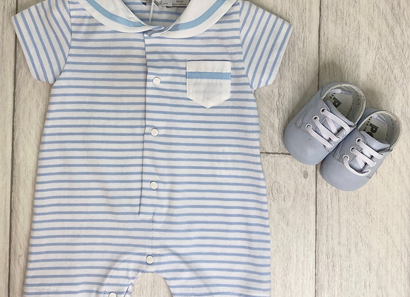 Patachou Baby Boy Summer Stripe Romper