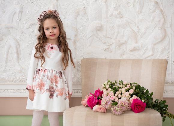 Patachou Pink Floral Dress