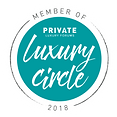 Private Luxury Circle 2018 member badge.