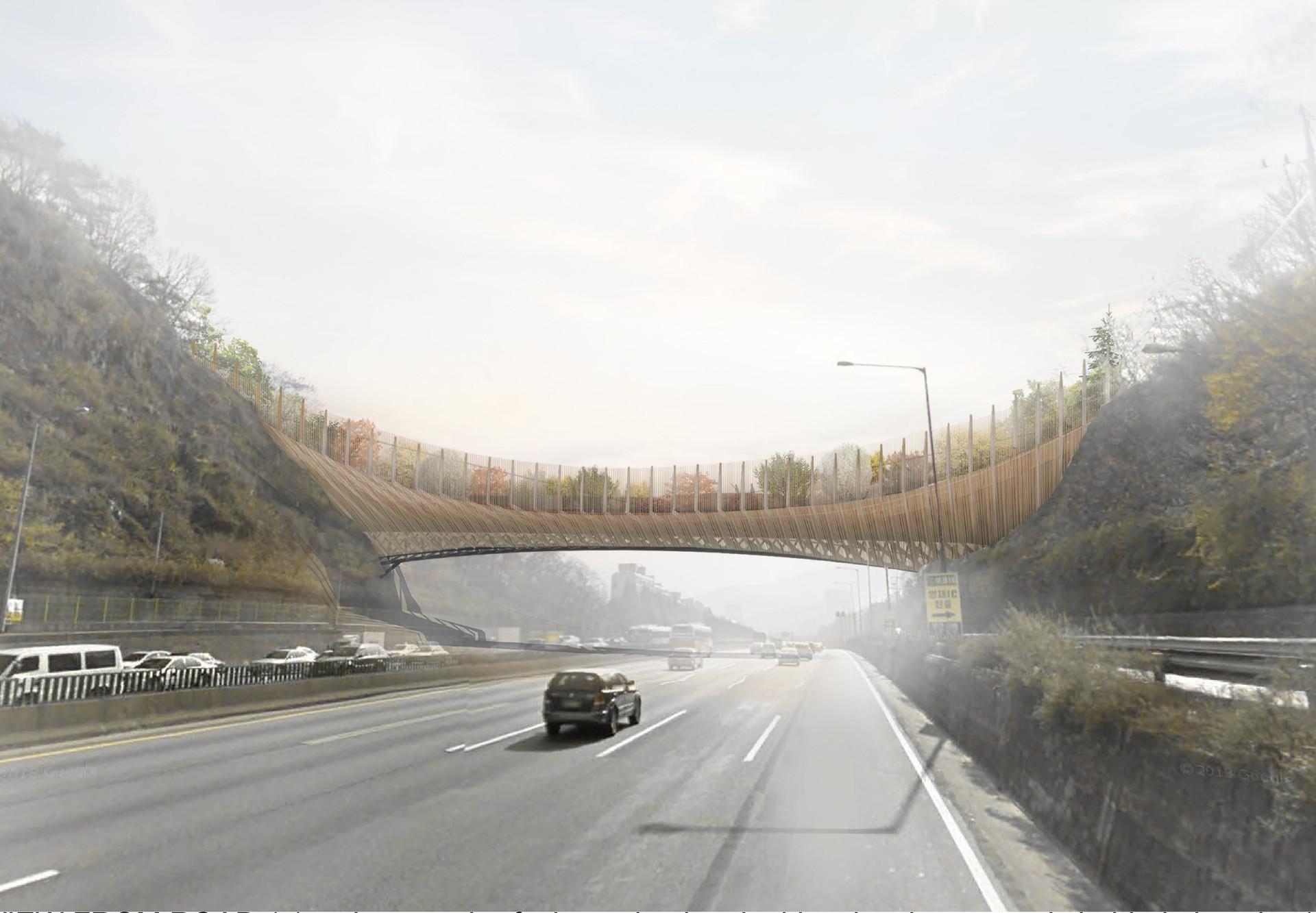 Yangjaegogae Eco Bridge, South Korea