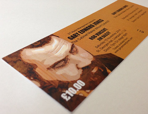 The Cabinet Maker Album Launch Ticket