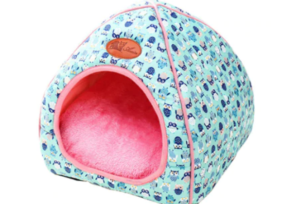 Small Owl Pattern Pet House