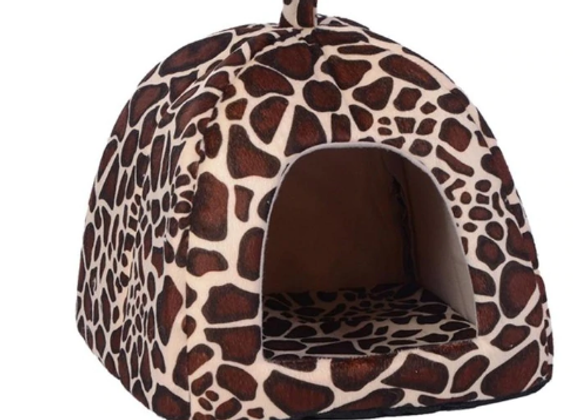 Small Leopard Pet House