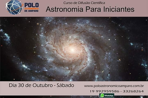 Curso:Astronomia Para Iniciantes + Almoço