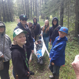 Alford Lake 2019 Alberta Trappers Youth Camp