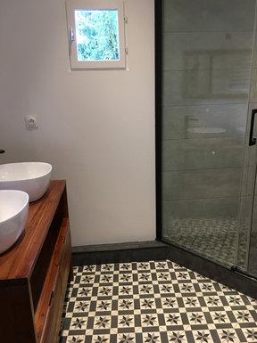 Après travaux Salle de bain  - VILLEPREUX