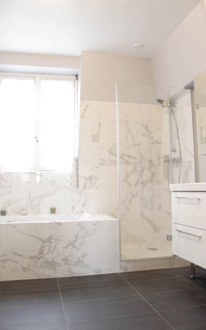 Salle de bain après travaux