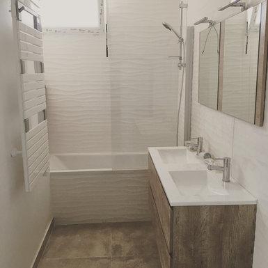 Nouvelle salle de bain pour les enfants