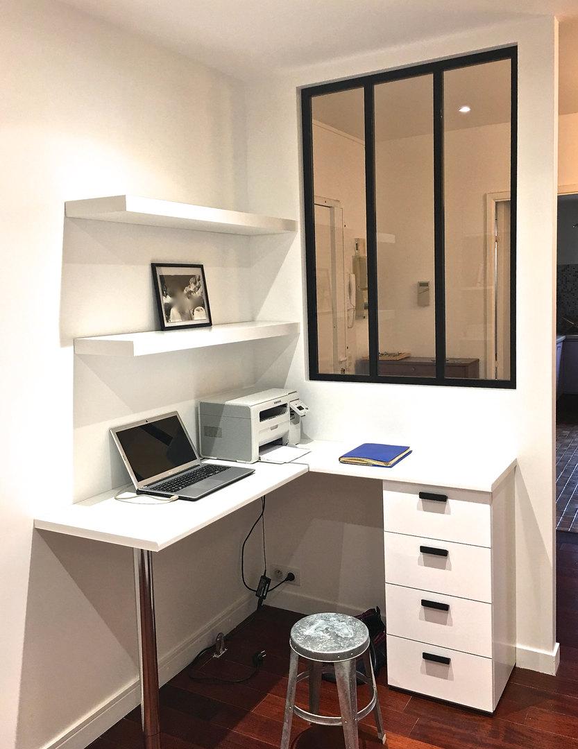 Création d'un bureau sur-mesure IKEA