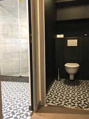 Après travaux Toilettes - VILLEPREUX